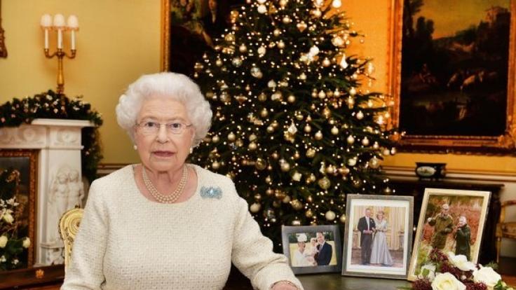 Queen Elizabeth II. nutzt das Weihnachtsfest, um eine Rede an ihre Untertanen zu halten. (Foto)