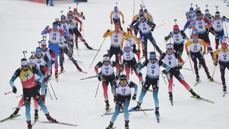 Die Biathlon-Weltmeisterschaft gastiert vom 13.02. bis zum 23.02.20 in Antholz.