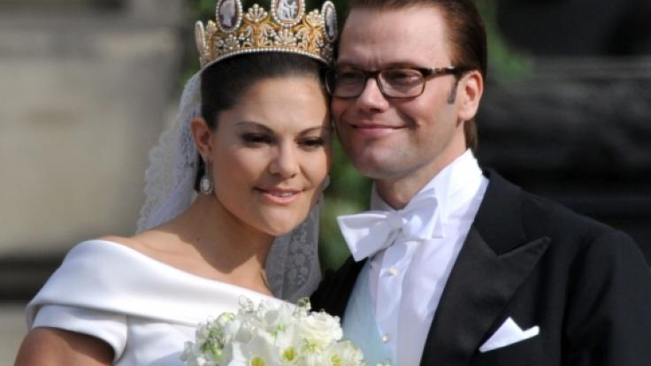 Kronprinzessin Victoria und Prinz Daniel von Schweden (Foto)