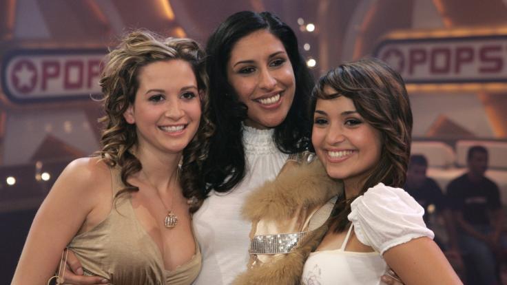 """Senna Gammour (Mitte) im Jahr 2006 mit ihren """"Monrose""""-Bandkolleginnen Mandy Capristo (links) und Bahar Kizil. (Foto)"""