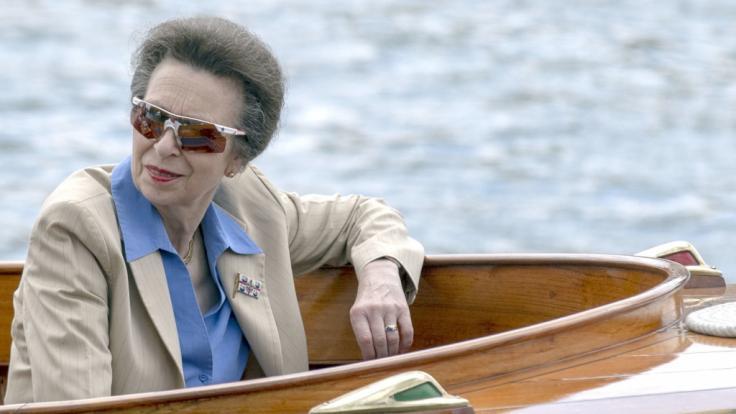 Prinzessin Anne hat schon mal Ärger mit dem Gesetz. (Foto)
