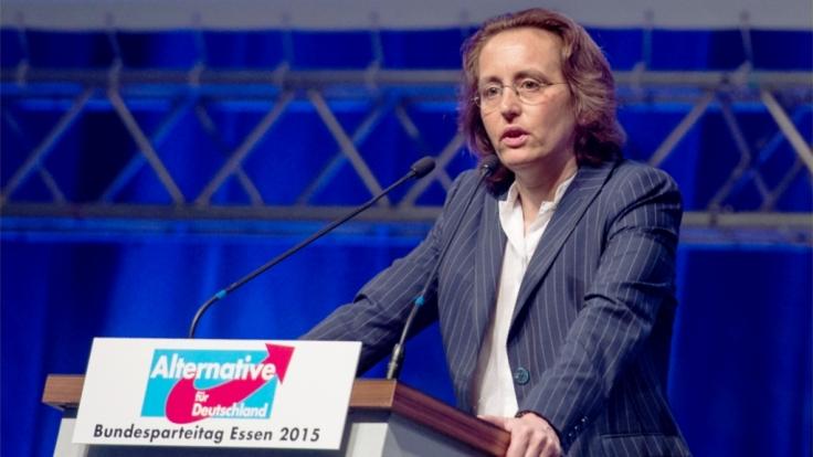 Beatrix von Storch verfügt über ein riesiges Datennetzwerk mit Internetseiten, Blogs und Vereinen. (Foto)