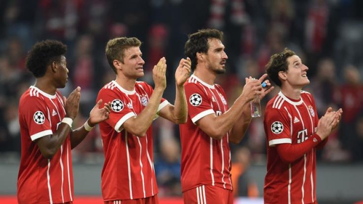 Die Bayern müssen am Wochenende gegen den HSV ran. (Foto)