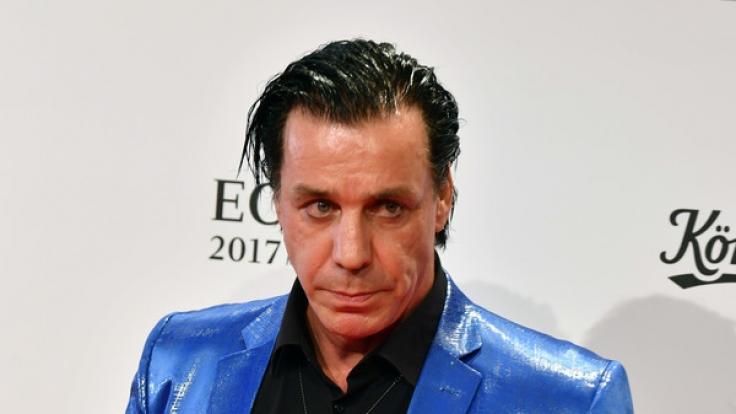 Till Lindemann hat ein dickes Ding an der Angel. (Foto)