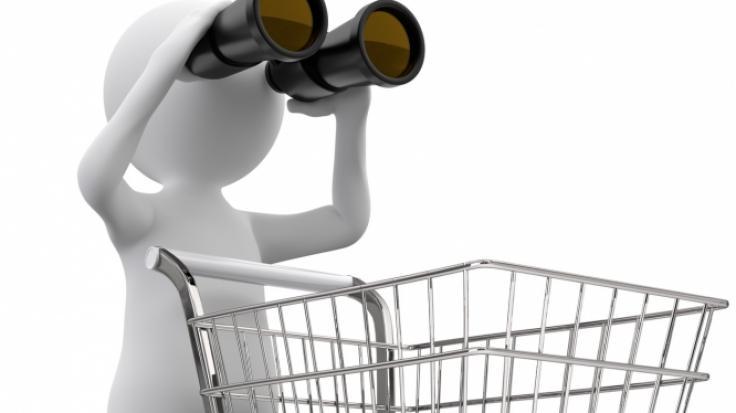 Einkaufen auch an Fronleichnam (Foto)
