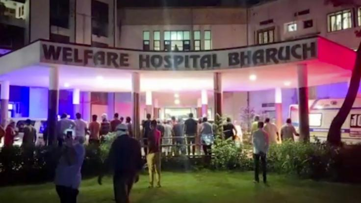 Bei einem Brand in einem Krankenhaus sind mindestens 18 mit dem Coronavirus infizierte Patienten ums Leben gekommen. (Foto)