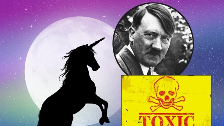 Einhornlicht, Nazis im Weltall oder Giftflugzeuge - die Liste der Verschwörungstheorien ist lang.