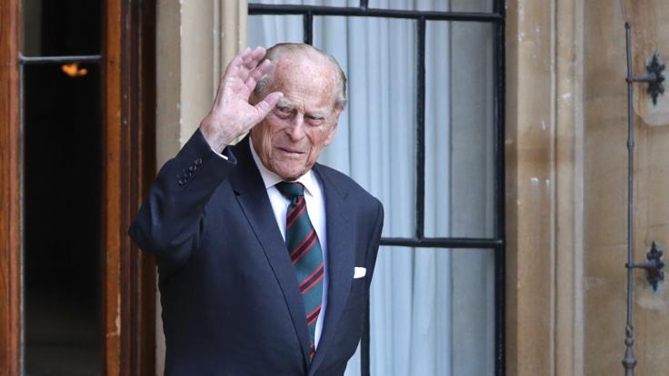 Prinz Philip führt die Todesliste 2021 an. (Foto)
