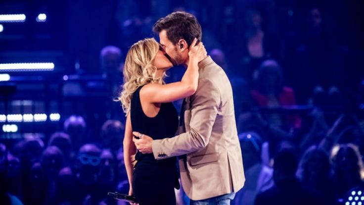 Helene Fischer und Florian Silbereisen sind nicht nur privat, sondern auch auf der Bühne ein Herz und eine Seele. (Foto)