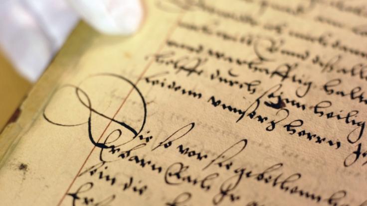 Handschrift (Foto)