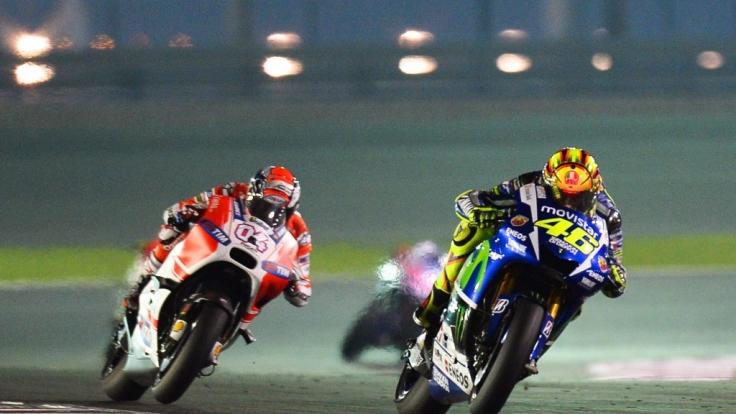 MotoGP 2015: Superstar Valentino Rossi fährt noch immer vorne mit.