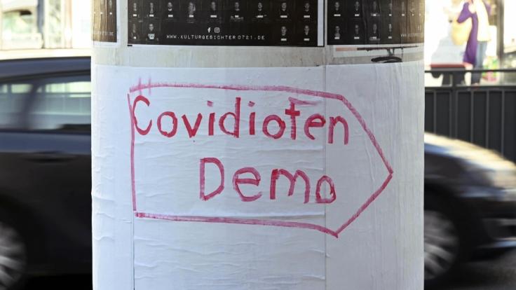 """Die """"Querdenken""""-Bewegung hat für den 31.12.2020 eine Demonstration in Berlin mit 22.500 Teilnehmern angemeldet. (Foto)"""
