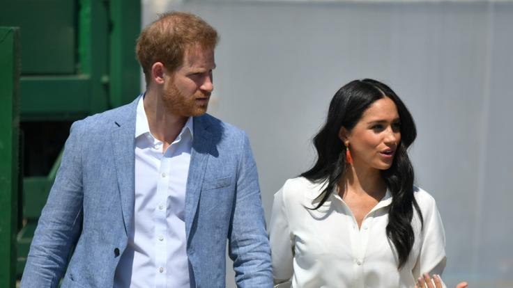 Wollen Herzogin Meghan und Prinz Harry Großbritannien verlassen? (Foto)