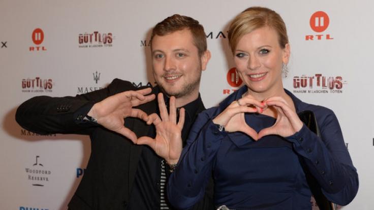 Am Sonntag feiern auch die Stars den Valentinstag. Im Bild: Eva Habermann und Armin Barwich.