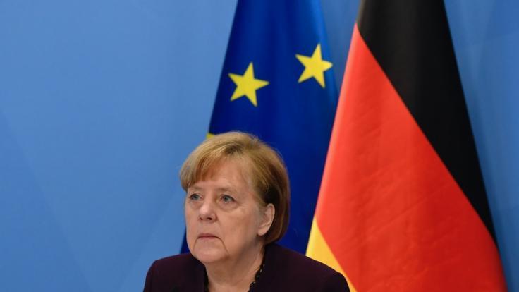 Merkel muss sich harte Kritik gefallen lassen. (Foto)