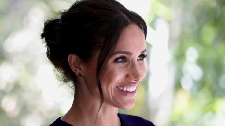 Meghan Markle sorgte zum Abschluss ihrer Reise durch Australien, Neuseeland, Tonga und Fidschi an der Seite ihres Ehemannes Prinz Harry für Getuschel. (Foto)