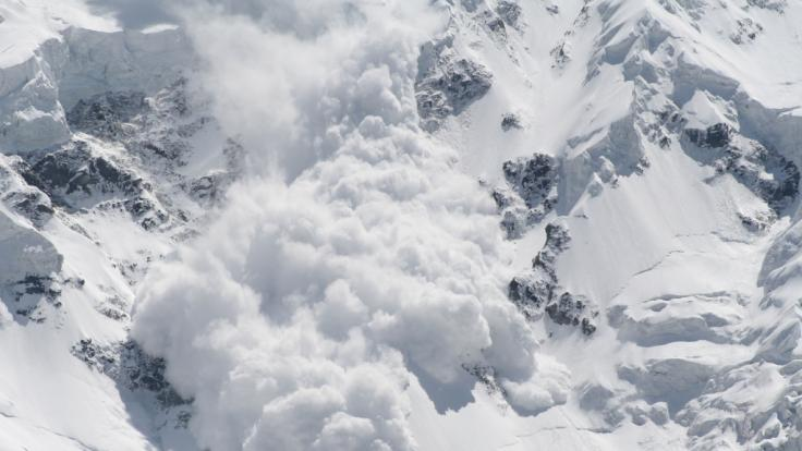 Auf Spitzbergen wurden zwei Deutsche von einer Lawine erfasst und getötet. (Foto)