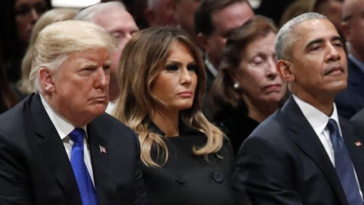 Donald Trump und Barack Obama werden wohl keine Freunde mehr. (Foto)