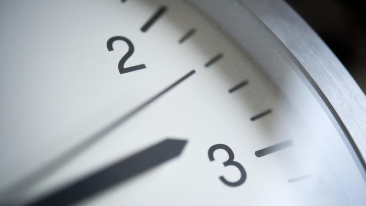 Die Uhren werden wieder auf Winterzeit umgestellt.