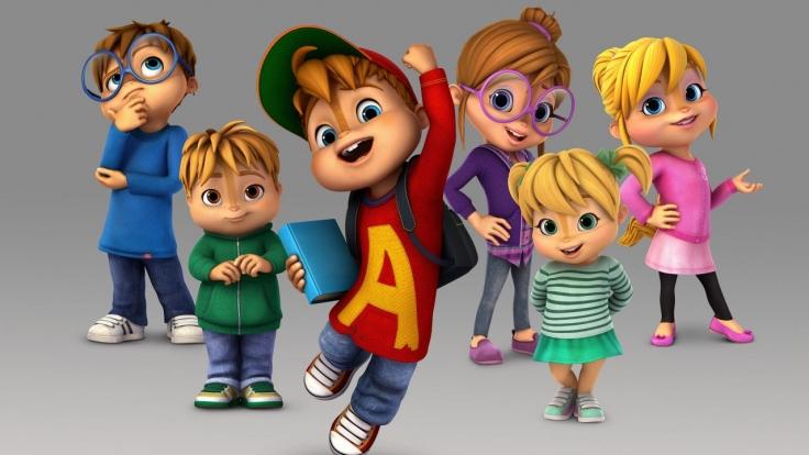ALVINNN!!! und die Chipmunks bei Super RTL (Foto)