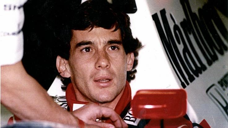 Der brasilianische Formel-1-Pilot Ayrton Senna verunglückte im Mai 1994 beim Großen Preis von San Marino in Imola tödlich. (Foto)