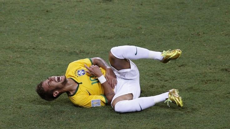 Aus dem Turnier gekickt: Superstars Neymar.