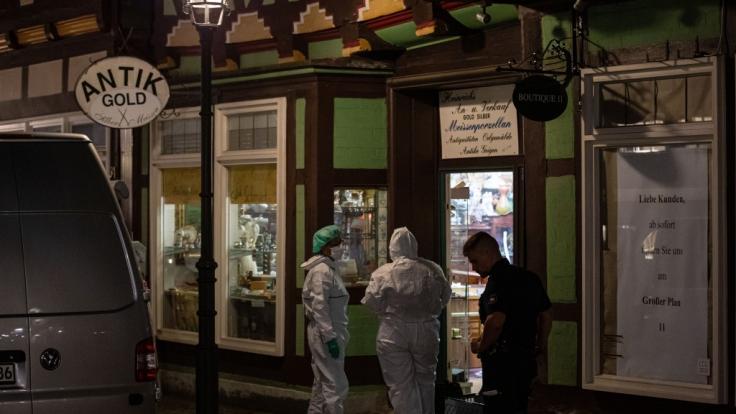 In Celle hat ein Juwelier einen mutmaßlichen Räuber erschossen. (Foto)