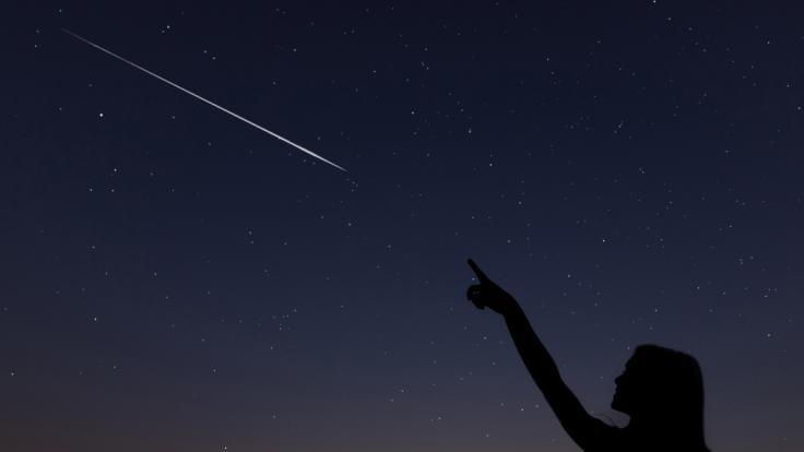 Im Mai erwartet uns eine regelrechte Sternschnuppen-Woche. (Foto)