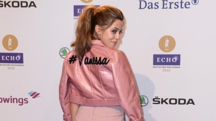 Die Echo-Verleihung verließ Vanessa Mai nicht allein.