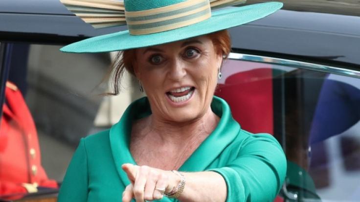 Sarah Ferguson leistet sich vor der Hochzeit ihrer Tochter mal wieder einen royalen Fauxpas.