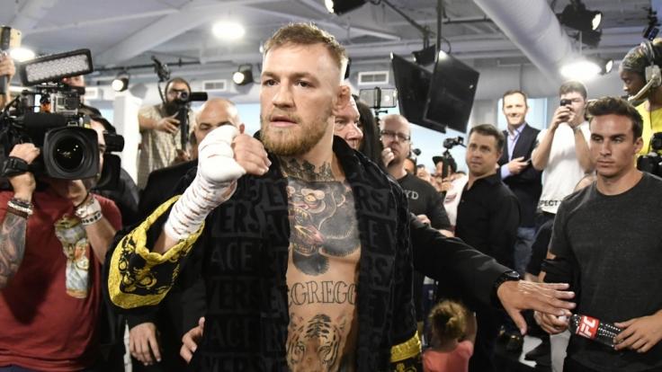 Conor McGregor hat offenbar Ärger mit der Mafia.