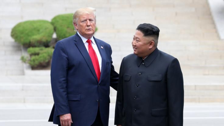 Trump weiß angeblich, wie es Kim Jong Un geht, dürfe aber nicht darüber sprechen.