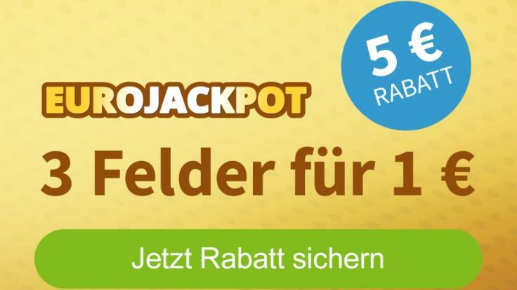 Erstspieler können sich hier 5 Euro Rabatt für die nächste Eurojackpot-Ziehung sichern! (Foto)