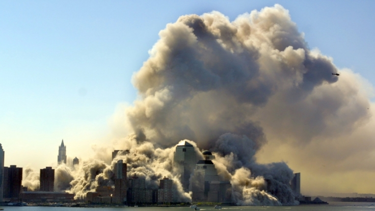 Der IS will die Welt brennen sehen: Foto vom 11. September 2001 in New York. (Foto)