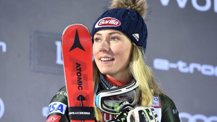 Mikaela Shiffrin rechnet sich auch im Ski-alpin-Weltcup 2019/20 große Chancen aus. (Foto)