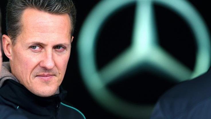 Michael Schumacher hatte im Jahr 2013 einen schweren Skiunfall. (Foto)