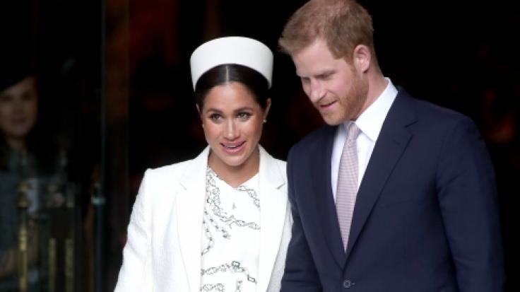Die damals noch schwangere Herzogin Meghan verzauberte beimCommonwealth-Tag 2019 in einem Kleid vonVictoria Beckham. (Foto)