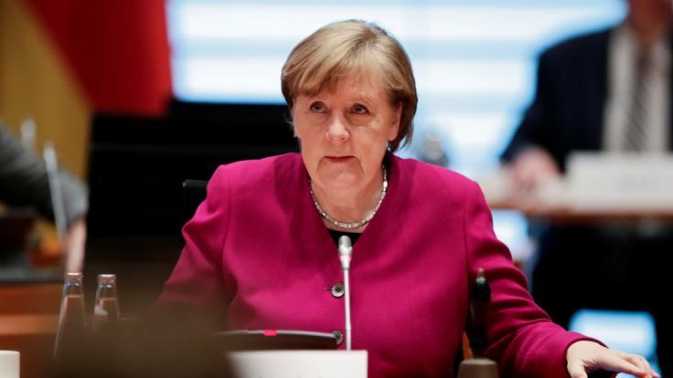 Angela Merkel setzte die Schulschließungen in der Bundesnotbremse fest.