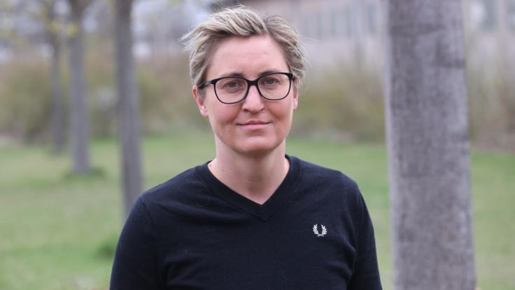 Susanne Hennig-Wellsow ist Vorsitzende der Partei Die Linke. (Foto)