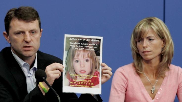 Auch fast elf Jahre nach dem Verschwinden ihrer Tochter geben Maddies Eltern die Hoffnung nicht auf (Archivbild).