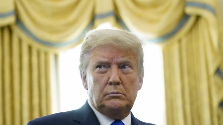 Donald Trump nimmt nicht an der Amtseinführung von Joe Biden teil. (Foto)