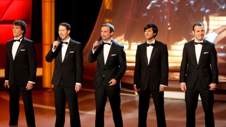 Ob im Fernsehen oder live auf der Bühne: Mit ihrem Mix aus Klassik und Popmusik verzaubern Adoro ihr Publikum. (Foto)