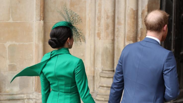 Meghan Markle und Prinz Harry legen jetzt eine Pause ein.