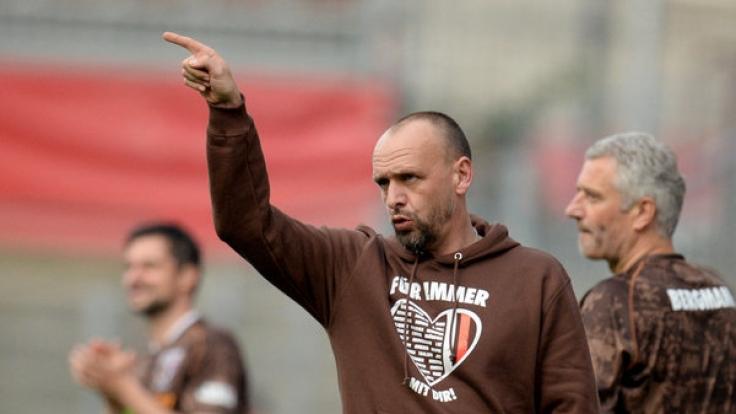 Der FC St. Pauli spielte im Leben von Holger Stanislawski eine wichtige Rolle. (Foto)