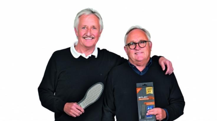 Die FLEXMED-Gründer v. l. Werner Mucha und Peter Mucha. (Foto)