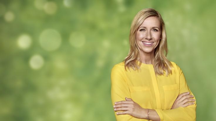 """Andrea Kiewel moderiert seit Jahren den """"ZDF-Fernsehgarten"""". (Foto)"""