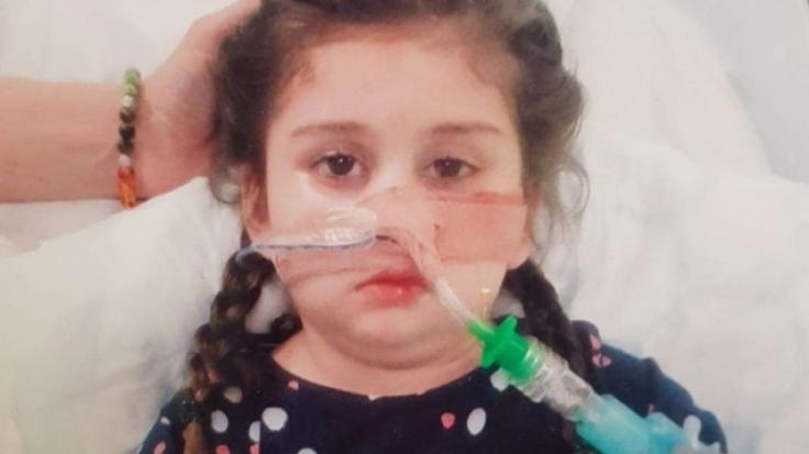 Eine Grippeerkrankung führte bei der kleinen Pippa zu schweren Hirnschäden.