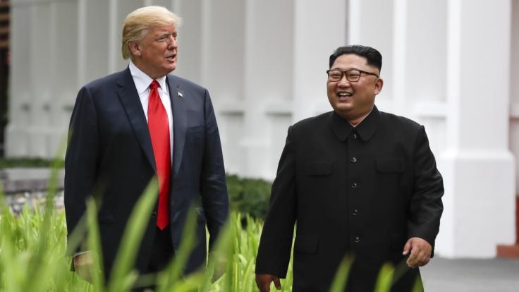 Laut US-Journalist Bob Woodward wollte Trump Kim angeblich liquidieren lassen. (Foto)