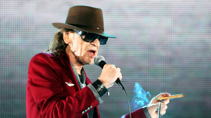 Rockt seit 50 Jahren auf der Bühne und will noch zwei Jahrzehnten dranhängen: Udo Lindenberg. (Foto)