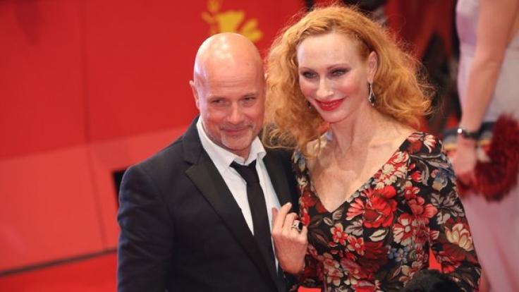 Christian Berkel und seine Frau Andrea Sawatzki. (Foto)